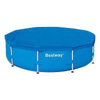 Тент Bestway 58036 для каркасного бассейна диаметр 305см