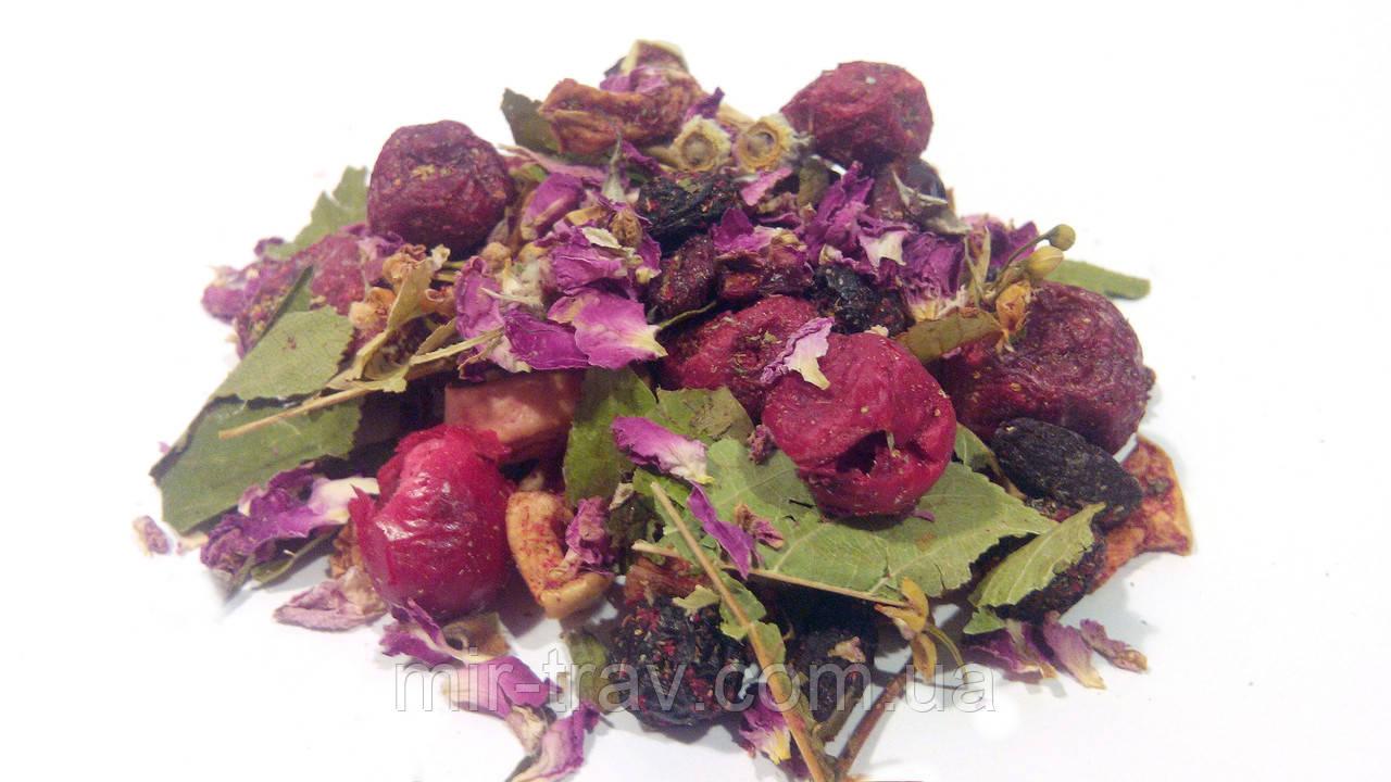 Фруктовый чай вишня (фруктовый витаминный травяной сбор)