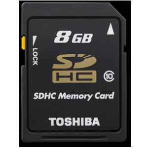 Карта памяти Toshiba SDHC 8GB Class 10 OEM
