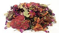 Фруктовый чай клубника 100 грамм (фруктовый витаминный травяной сбор)