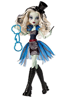 Кукла Монстр Хай Френки Штейн Цирк Monster High Freak du Chic Frankie Stein Doll