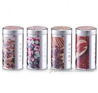 Банка для специй Zeller Spices G19150 с крышкой в ассортименте  банка с рисунком перец чили