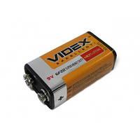 Батарейка VIDEX 9V 6F22, KRONA