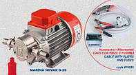 Шестеренчатый пищевой насос Rover Pompe Novax Marina 12V G-20 (12 Вольт)