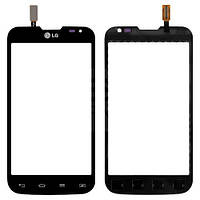 Сенсор (Touch screen) LG D325 Optimus L70 Dual черный