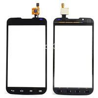 Сенсор (Touch screen) LG P715 Optimus L7 II Dual черный оригинал