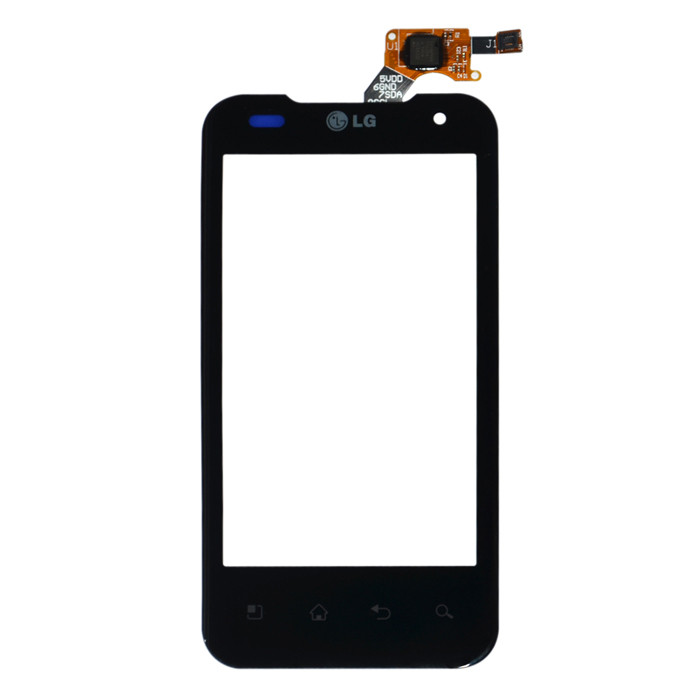 Сенсор (Touch screen) LG P990 чёрный