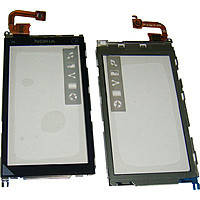 Сенсор (Touch screen) Nokia X6 черный оригинал + рамка