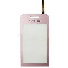 Сенсор (Touch screen) Samsung S5230 Star розовый