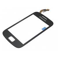 Сенсор (Touch screen) Samsung S6500 Galaxy mini 2 черный копия