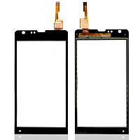 Сенсор (Touch screen) Sony C5302 M35h Xperia SP/ C5303 M35i Xperia SP черный оригинал