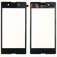 Сенсор (Touch screen) Sony D2202 Xperia E3 черный оригинал