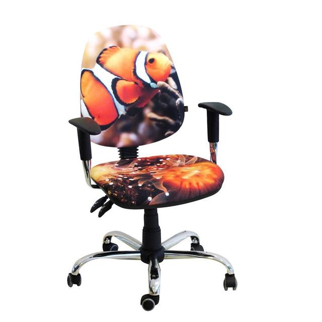 Кресло Бридж Хром Дизайн 6- Рыбка.