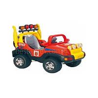 Детский электромобиль J-014 (Желто-голубой, Р/У, 6V/7AH, 30W)