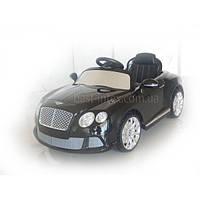 Электромобиль Bentley Continental 520 R-2 (Черный, Р/У, 12V/7AH, 2 двигателя 35W)