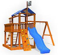 Детская площадка готовая для улицы как домик Беби land-5