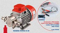 Шестеренчатый пищевой насос Rover Pompe Novax Marina 24V G-20 (12 Вольт)