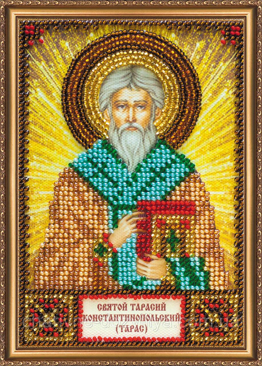 """Набор для вышивки бисером икона """"Святой Тарас (Тарасий)"""""""
