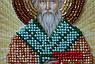 """Набор для вышивки бисером икона """"Святой Тарас (Тарасий)"""", фото 3"""
