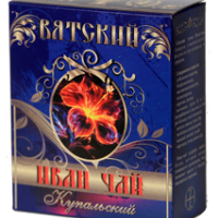 """Вятский Иван-чай """"Купальский"""", 100г, чёрный, гранулир."""