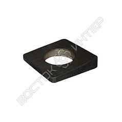 Шайба М10 ГОСТ-10906-78 косая квадратная