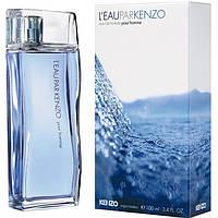 Kenzo L'eau par Kenzo pour homme 100ml ORIGINAL size мужская туалетная вода тестер аромат