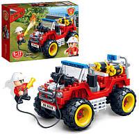 Детский конструктор Пожарная машина