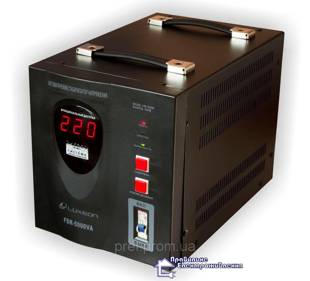 Релейний стабілізатор LUXEON FDR-5000VA