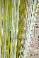 Шторы нити радуга со стеклярусом  (11519)