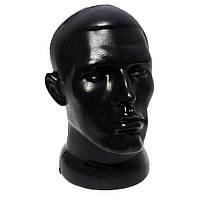 Манекен голова мужская черная
