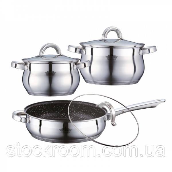 Набор посуды Peterhof PH - 15789 с индукционным дном