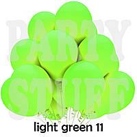 Воздушные шарики Gemar G90 пастель салатовый 10' (26 см) 100 шт
