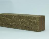 Кирпич узкий «Скала» Шоколад 250х50х65
