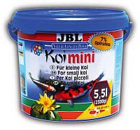 JBL Koi Mini корм в форме гранул для молодых карпов Кои (15-32 см) 5,5л