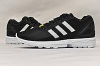 Кроссовки мужские Adidas ZX Flux Black White