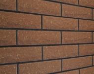 Кирпич узкий «Скала» Бордо 250х50х65