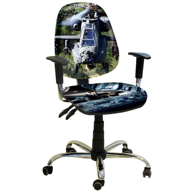 Кресло Бридж Хром Дизайн №17 Вертолёт.