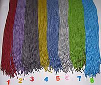 Шнурки круглые 120см ячейка