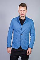 Пиджак Tim Faden трикотажный голубой
