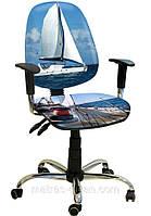 Кресло Бридж Хром Дизайн №18 Яхта.
