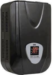 IEK Стабилизатор напряжения Extensive 3 кВА электронный настенный (IVS28-1-03000)