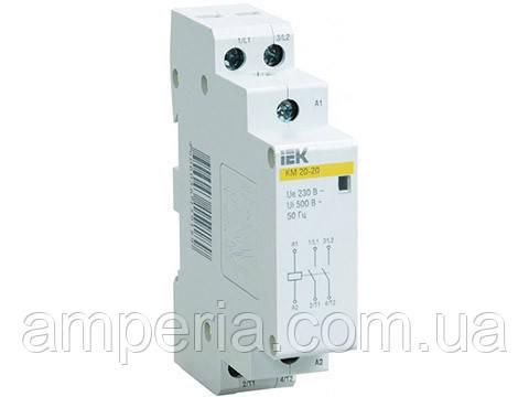 IEK Контактор модульный КМ20-20 AC (MKK10-20-20)