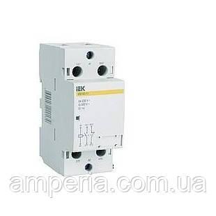 IEK Контактор модульный КМ63-20 AC (MKK10-63-20)