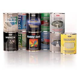 Грунтовки и краски для металла, дерева и бетона