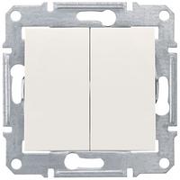 Двухклавишный выключательSchneider electric SEDNA IP44 С.-К.