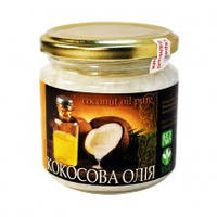 Масло кокосовое, 180 мл. Украинские Бальзамы