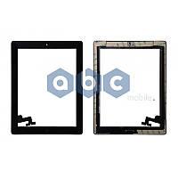 Сенсор Apple iPad 2 со стеклом в сборе черный