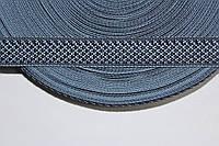 ТЖ 17мм (50м) т.синий+голубой , фото 1