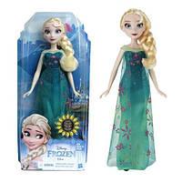 Hasbro, Кукла Эльза холодное торжество, Disney Frozen Classic Frozen Fever Fashion Elsa высота 28 см