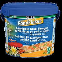 JBL PondFlakes 10,5 л-корм для прудовых рыб в виде хлопьев (40199)
